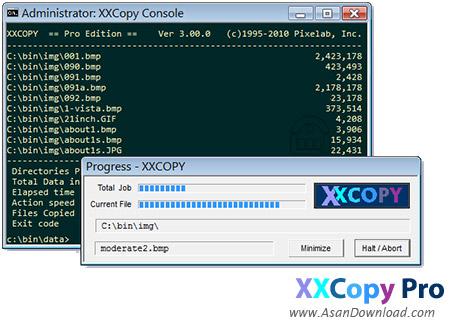 دانلود Pixelab XXcopy Pro v3.11.6 - نرم افزار مدیریت فایل تحت محیط داس