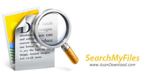 دانلود SearchMyFiles v2.82 - نرم افزار جست و جوی سریع فایل ها