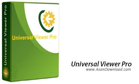 دانلود Universal Viewer Pro v6.7.2.0 - نرم افزار نمایش و اجرای انواع فایل
