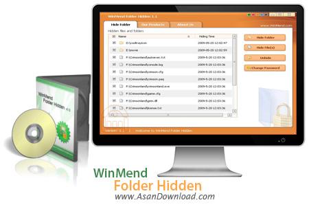 دانلود WinMend Folder Hidden v1.5.2 - نرم افزار پنهان کردن فایل ها و پوشه ها