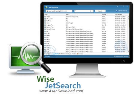 دانلود Wise JetSearch v3.19.157 - نرم افزار جستجوی سریع فایل در ویندوز