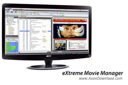 دانلود eXtreme Movie Manager v9.0.1.0 - نرم افزار مدیریت مجموعه فیلم ها