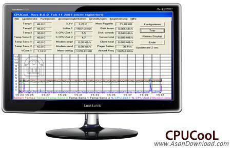 دانلود CPUCooL v8.0.6 - نرم افزار نمایش میزان دمای پردازنده