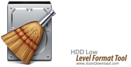دانلود HDD Low Level Format Tool v4.40 - نرم افزار فرمت سطح پایین هارد دیسک بدون امکان بازگردانی اطلاعات حذف شده