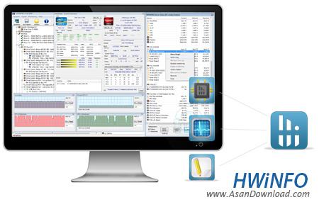دانلود HWiNFO v5.58 Build 3255 - نرم افزار نمایش اطلاعات دقیق سخت افزار