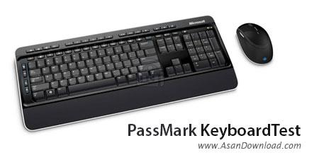 دانلود PassMark KeyboardTest v3.0 Build 1005 - نرم افزار تست صفحه کلید و ماوس