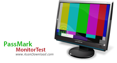 دانلود PassMark MonitorTest v3.2 Build 1006 - نرم افزار تست کیفیت انواع مانیتور