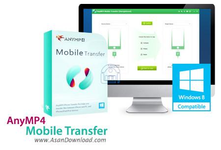دانلود AnyMP4 Mobile Transfer v1.1.8 - نرم افزار انتقال اطلاعات به گوشی