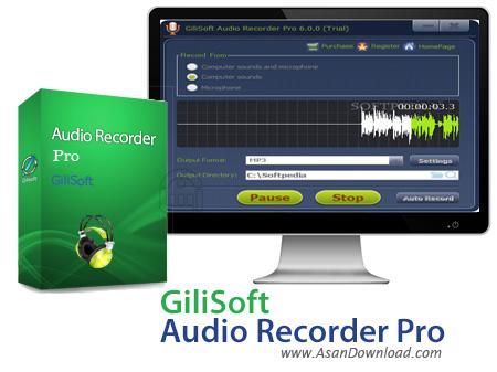دانلود GiliSoft Audio Recorder Pro v6.3.0 - نرم افزار ضبط صدا
