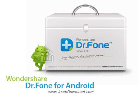 دانلود Wondershare Dr.Fone Toolkit for Android v8.3.3.64 - نرم افزار بازیابی اطلاعات گوشی اندروید