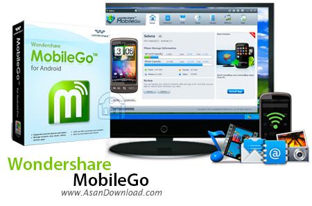 دانلود Wondershare MobileGo v8.5.0.109 - نرم افزار مدیریت گوشی های اندرویدی