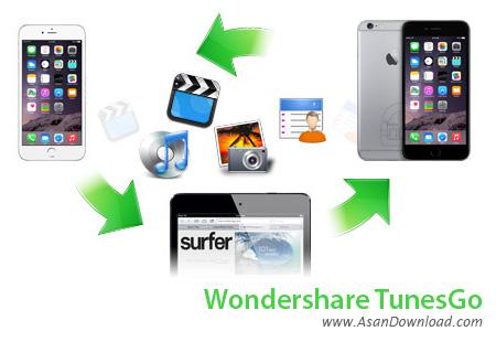 دانلود Wondershare TunesGo v4.6.4.0 - نرم افزار مدیریت دستگاه های مجهز به iOS