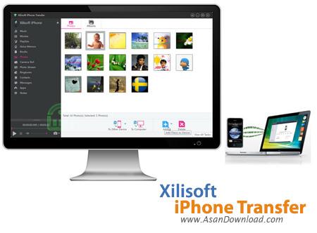 دانلود Xilisoft iPhone Transfer v5.7.25 - نرم افزار مدیریت گوشی آیفون