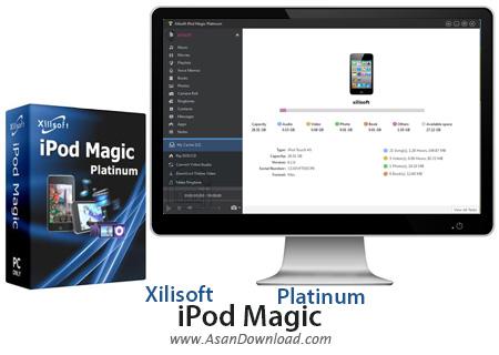 دانلود Xilisoft iPod Magic Platinum v5.7.23 - نرم افزار مدیریت محصولات اپل