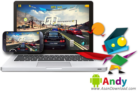 دانلود Andy OS Android Emulator v46.2 Build 53 x86/x64 - نرم افزار شبیه ساز سیستم عامل اندروید <a href=