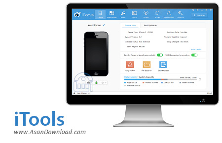 دانلود iTools v4.3.6.9 - نرم افزار مدیریت iOS