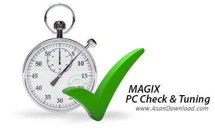 دانلود MAGIX PC Check & Tuning 2012 - نرم افزار بهینه سازی سیستم