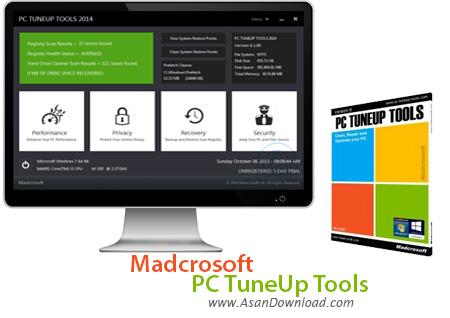 دانلود Madcrosoft PC TuneUp Tools 2014 v8.1.000 - نرم افزار پاکسازی ،تعمیر و بهینه سازی ویندوز