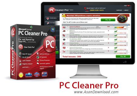 دانلود PC Cleaner Pro v14.0.18.6.11 - نرم افزار پاکسازی کامل ویندوز