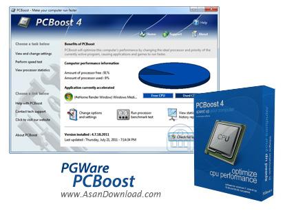 دانلود PGWare PCBoost v5.6.4.2018 - نرم افزار بهینه سازی پردازنده
