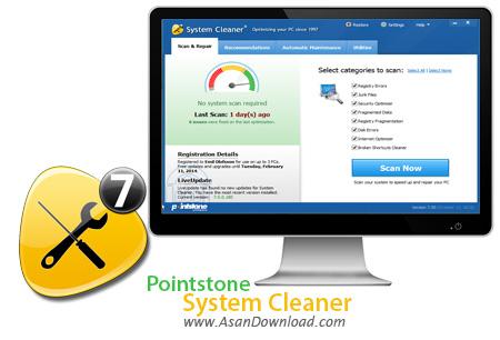 دانلود Pointstone System Cleaner v7.6.13.580 - نرم افزار پاکسازی و بهینه سازی ویندوز