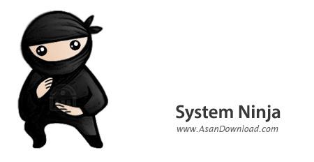 دانلود System Ninja v3.2.2 - نرم افزار پاکسازی سیستم