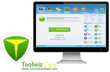 دانلود Toolwiz Care v3.1.0.5100 - نرم افزار بهینه سازی و افزایش کارآیی ویندوز