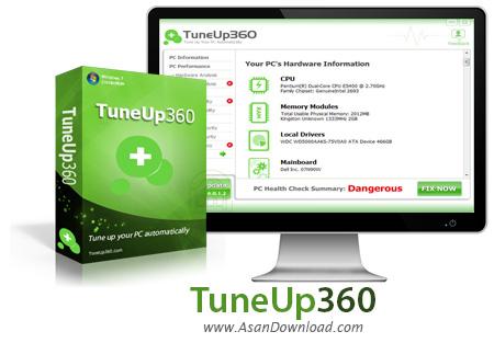 دانلود TuneUp 360 v7.0.2.0 - نرم افزار بهینه سازی 360 درجه ای