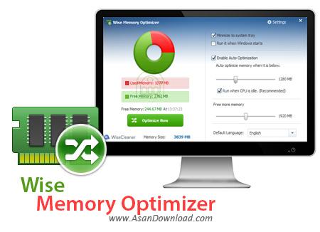 دانلود Wise Memory Optimizer v3.51.102 - نرم افزار بهینه سازی رم