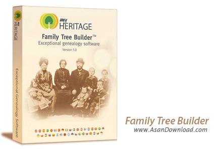 دانلود Family Tree Builder v6.0 - طراحی نمودار درختی یک خانواده