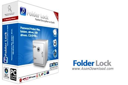 دانلود Folder Lock v7.7.6 - نرم افزار رمزگذاری و قفل فایل ها