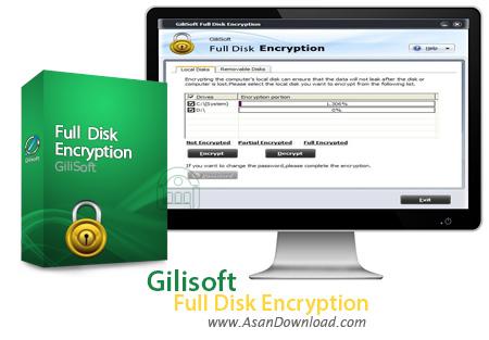 دانلود Gilisoft Full Disk Encryption v3.6.0 - نرم افزار قفل گذاری و محافظت