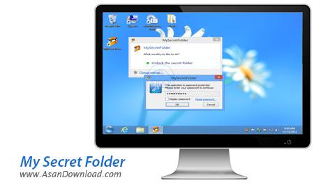 دانلود My Secret Folder v5.1 - نرم افزار محافظت از فايل ها و پوشه ها