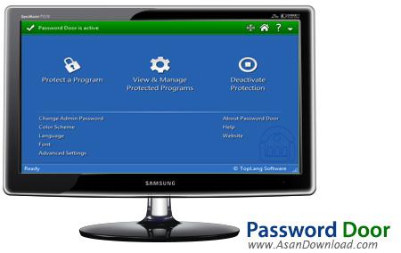 دانلود Password Door v9.0.1 - نرم افزار رمزگذاری بر روی فایل های اجرایی