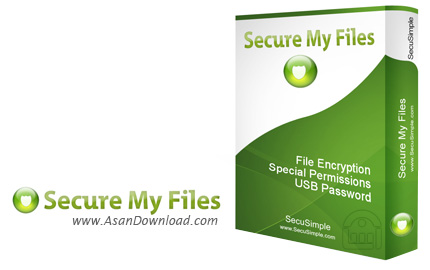 دانلود Secure My Files v3.3.3 - نرم افزار محافظت از اطلاعات سیستم