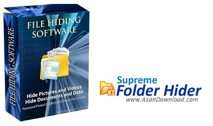 دانلود Supreme Folder Hider v1.8 - نرم افزار قفل گذاری و محافظت