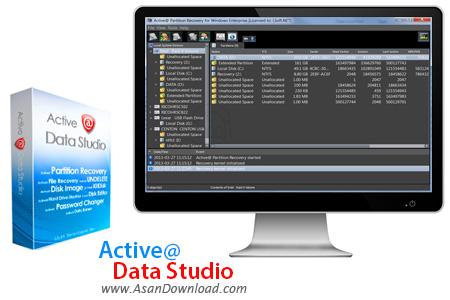 دانلود Active@ Data Studio v9.0.0 - نرم افزار مدیریت و بازیابی اطلاعات