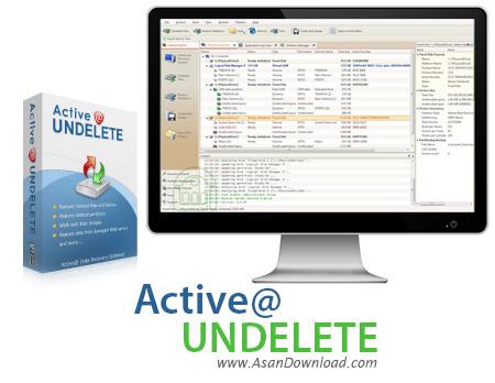 دانلود Active@ UNDELETE v9.7.9.0 - نرم افزار ریکاوری قدرتمند