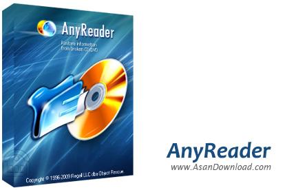 دانلود AnyReader v3.18 Build 1140 - نرم افزار کپی اطلاعات از دیسک های آسیب دیده یا اتصالات شبکه نامناسب