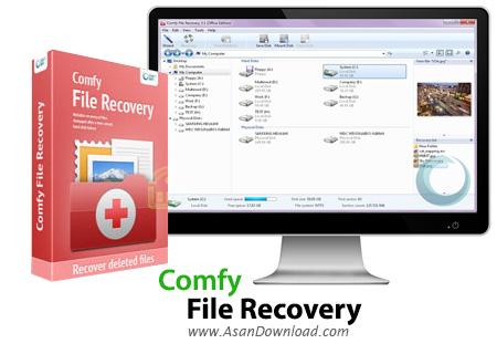 دانلود Comfy File Recovery v3.9 - نرم افزار بازیابی فایل ها