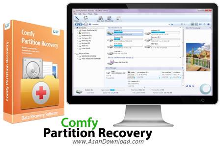 دانلود Comfy Partition Recovery v2.8 - نرم افزار بازیابی پارتیشن ها
