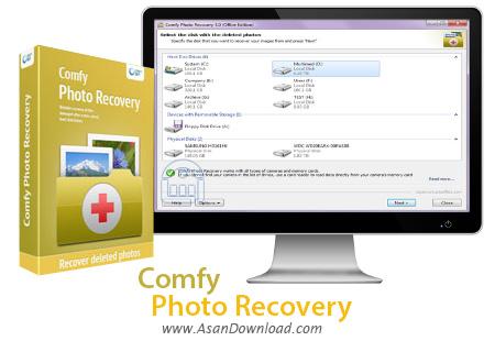 دانلود Comfy Photo Recovery v4.7 - نرم افزار بازیابی تصاویر
