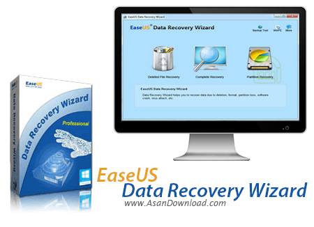 دانلود EaseUS Data Recovery Wizard Professional + Technician + AdvancedPE v9.9.0 x86/x64 - نرم افزار بازیابی اطلاعات