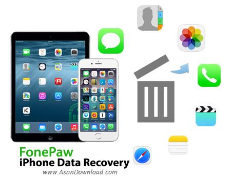 دانلود FonePaw iPhone Data Recovery v5.6.0 - نرم افزار بازیابی اطلاعات گوشی آیفون