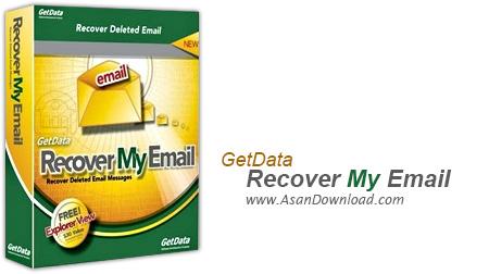 دانلود GetData Recover My Email v5.0.2.28 - نرم افزار بازیابی ایمیل های حذف شده
