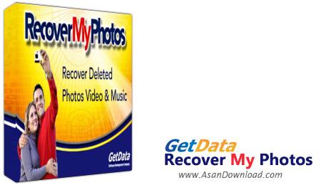 دانلود GetData Recover My Photos Pro v4.4.6.1608 - نرم افزار بازیابی عکس، فیلم و موزیک