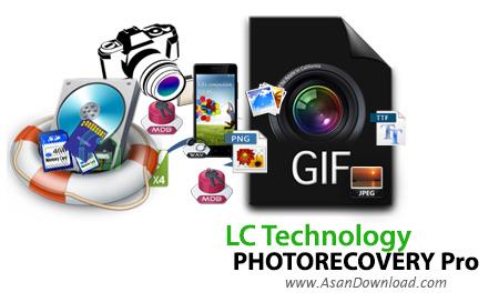 دانلود LC Technology PHOTORECOVERY Pro v5.1.6.0 - نرم افزار بازیابی تصاویر