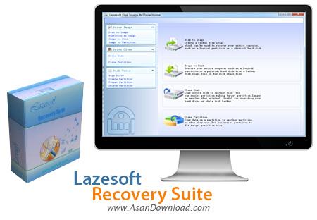 دانلود Lazesoft Recovery Suite Unlimited v4.0.1 - نرم افزار بازیابی اطلاعات