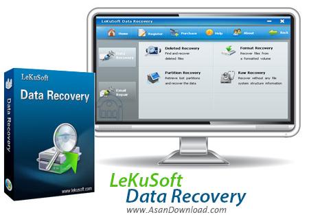 دانلود LeKuSoft Data Recovery v1.0.0.2 - نرم افزاری برای بازیابی فایل ها