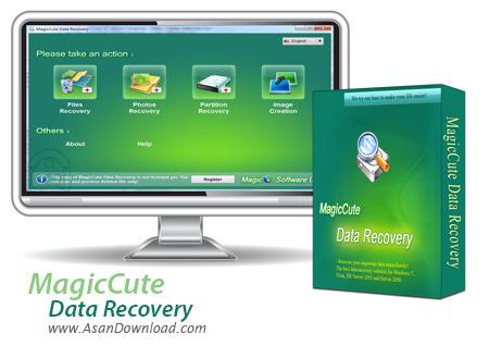 دانلود MagicCute Data Recovery 2011.1.0 - نرم افزار بازیابی قدرتمند فایل ها